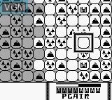 In-game screen of the game Kingdom Crusade on Nintendo Game Boy
