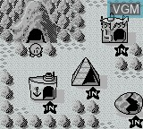 In-game screen of the game Pachio Kun 2 on Nintendo Game Boy