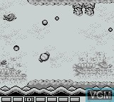 In-game screen of the game Parodius on Nintendo Game Boy