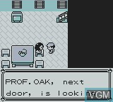 In-game screen of the game Pokemon - Yellow Version on Nintendo Game Boy