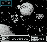 In-game screen of the game A-Force on Nintendo Game Boy