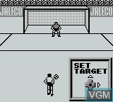 In-game screen of the game Ace Striker on Nintendo Game Boy