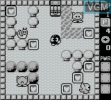In-game screen of the game Adventures of Lolo on Nintendo Game Boy