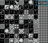 In-game screen of the game Ultraman Club on Nintendo Game Boy
