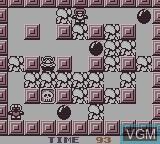 In-game screen of the game Wario Blast Featuring Bomberman! on Nintendo Game Boy