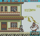 In-game screen of the game Animaniacs on Nintendo Game Boy