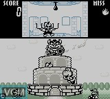 In-game screen of the game Game & Watch Gallery on Nintendo Game Boy