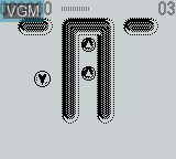In-game screen of the game Game of Harmony, The on Nintendo Game Boy