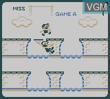 In-game screen of the game Gameboy Gallery on Nintendo Game Boy