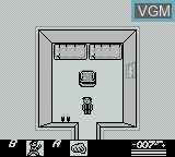 In-game screen of the game James Bond 007 on Nintendo Game Boy