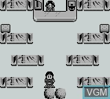 In-game screen of the game Kaguyahime on Nintendo Game Boy