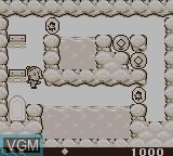 In-game screen of the game Karamucho Ziken on Nintendo Game Boy