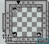 In-game screen of the game Koi Wa Kakehiki on Nintendo Game Boy