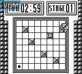 In-game screen of the game Korodice on Nintendo Game Boy