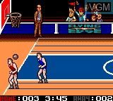 In-game screen of the game Arch Rivals on Sega Game Gear