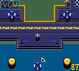 In-game screen of the game Buster Ball on Sega Game Gear