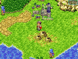 In-game screen of the game Astonishia Story R on GamePark Holdings Game Park 32