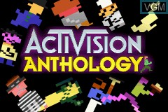 Title screen of the game Activision Anthology on Nintendo GameBoy Advance