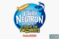 Adventures Of Jimmy Neutron Boy Genius The Attack Of The Twonkies For Nintendo Gameboy Advance The Video Games Museum