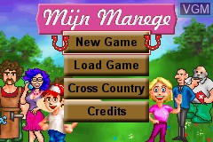Title screen of the game Paard & Pony - Mijn Manege on Nintendo GameBoy Advance