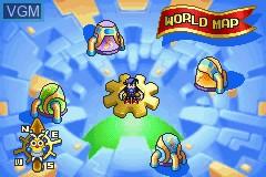 Menu screen of the game Kaze no Klonoa G2 - Dream Champ Tournament on Nintendo GameBoy Advance