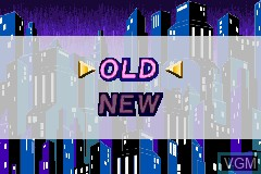 Menu screen of the game Elevator Action - Old & New on Nintendo GameBoy Advance