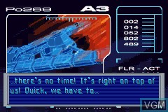 Menu screen of the game Fantastic 4 - Flame On on Nintendo GameBoy Advance