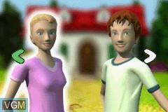 Menu screen of the game Best Friends - Hunde & Katzen on Nintendo GameBoy Advance