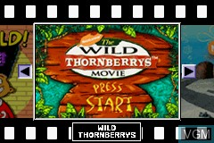 Menu screen of the game 4 Games on One Game Pak on Nintendo GameBoy Advance
