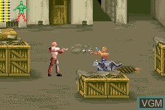In-game screen of the game xXx on Nintendo GameBoy Advance