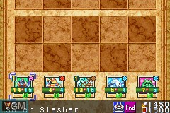 In-game screen of the game Yu-Gi-Oh! - The Sacred Cards on Nintendo GameBoy Advance
