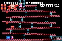 Famicom Mini 02 - Donkey Kong