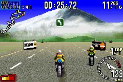 In-game screen of the game 2 Games in 1 - GT Advance 3 & Moto GP on Nintendo GameBoy Advance