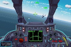 In-game screen of the game F-14 Tomcat on Nintendo GameBoy Advance