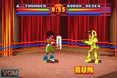 In-game screen of the game Ready 2 Rumble Boxing - Round 2 on Nintendo GameBoy Advance