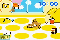 In-game screen of the game Relaxuma na Mainichi on Nintendo GameBoy Advance