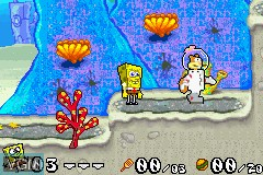 2 Games in 1 - SpongeBob SquarePants - Battle for Bikini Bottom & Jimmy Neutron - Boy Genius