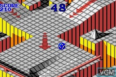 2 Games in One! - Marble Madness + Klax