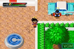 In-game screen of the game 2 Games in 1! - Dragon Ball Z - Buu's Fury + Dragon Ball GT - Transformation on Nintendo GameBoy Advance