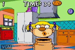 In-game screen of the game Rugrats - I Gotta Go Party on Nintendo GameBoy Advance