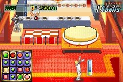 In-game screen of the game Virtua Tennis on Nintendo GameBoy Advance