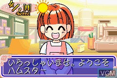 In-game screen of the game Hamster Club 3 on Nintendo GameBoy Advance
