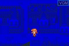 In-game screen of the game Nakayoshi Youchien - Sukoyaka Enji Ikusei Game on Nintendo GameBoy Advance