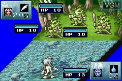In-game screen of the game Tales of the World - Summoner's Lineage on Nintendo GameBoy Advance