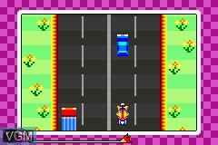 In-game screen of the game WarioWare, Inc. - Mega Microgame$! on Nintendo GameBoy Advance