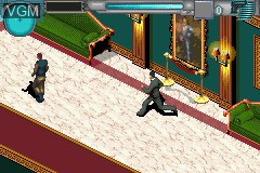 In-game screen of the game 007 - Everything or Nothing on Nintendo GameBoy Advance