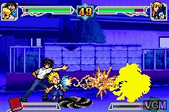 In-game screen of the game Konjiki no Gashbell!! - Unare! Yuujou no Zakeru on Nintendo GameBoy Advance