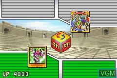 In-game screen of the game Yu-Gi-Oh! - Sugoroku no Sugoroku on Nintendo GameBoy Advance