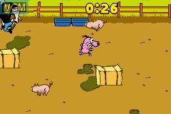 In-game screen of the game Cartoon Network Block Party on Nintendo GameBoy Advance