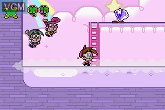 In-game screen of the game Fairly OddParents!, The - Shadow Showdown on Nintendo GameBoy Advance